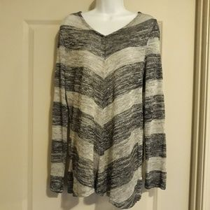 Sweaters - Shimmery striped sweater